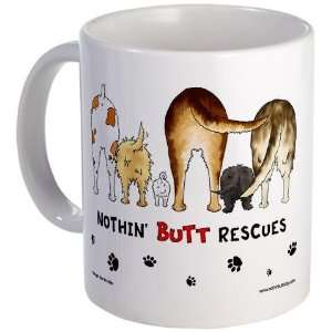 Dog Breed Rescues Funny Mug by