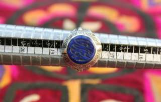SEAL SILVER RING SIZE 6 7 8 9 10 ISLAMIC ARABIC CALLIGRAPHY