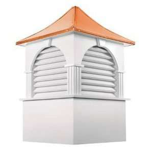 Cupola w/ Copper Rooftop  30 ft sq. 46 ft High Patio, Lawn & Garden