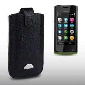 com NOKIA 500 TERRAPIN GENUINE LEATHER POCKET CASE BY CELLAPOD CASES