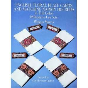 to Flowers and Napkin Folding) (9780486269672): William Morris: Books