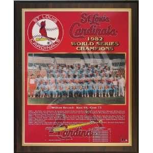 1982 St. Louis Cardinals Major League Baseball World Series