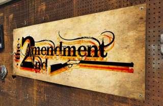 Second Amendment Banner 2nd Gun Rights NRA Conservative