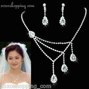 Earrings,Bracelet,Ring♥☆♥(Bridal Wedding Prom Homecoming)