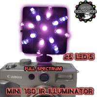 RED/UV 180 ILLUMINATOR V3 HOT SHOE GHOST HUNTING EQUIPMENT
