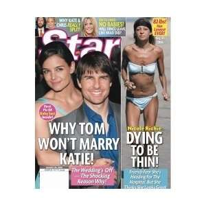 Star Magazine Katie Holmes & Tom Cruise August 28, 2006