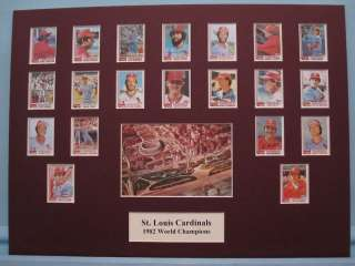 St. Louis Cardinals 1982 World Series Champions