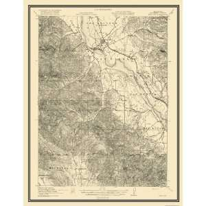 USGS TOPO MAP KING CITY QUAD CALIFORNIA (CA) 1919