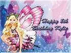 Barbie #2 Edible CAKE Icing Image topper frosting birthday party