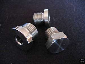 BMW R1200C STAINLESS STEEL FILLER & DRAIN PLUG SETS