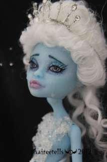 OOAK repaint/custom Monster High ABBEY mermaid fairy tale
