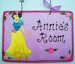Personalized PRINCESS SNOW WHITE SIGN Disney Plaque