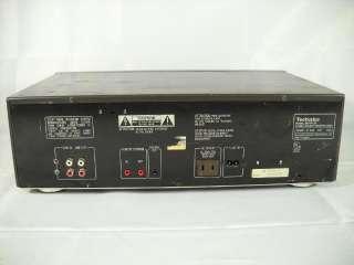 Vintage Technics Dual Cassette Deck Player Model # RS TR155