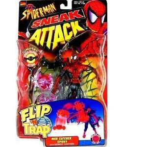 Spider Man The Animated Series Flip N Trap Web Catcher
