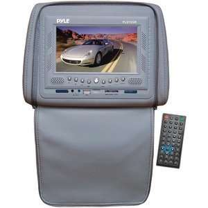 New High Quality PYLE PLD72GR 7 HEADREST MONITOR WITH DVD