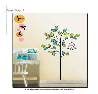 THE GIVING TREE MURAL ART REMOVABLE WALL STICKERS DECAL
