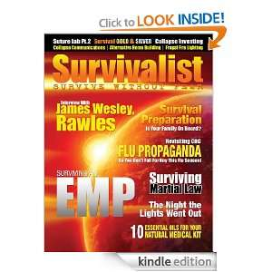 Survivalist Magazine Issue #5   Societal Collapse: Jim Richter, Robert