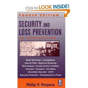 Security and Loss Prevention, Fourth Edition An