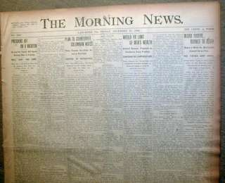 1906 newspaper NEGRO MAN LYNCHED   Nicholasville ALABAMA Marengo