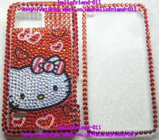 kitty Bling Full Case Cover For Motorola Droid Bionic XT875 #2