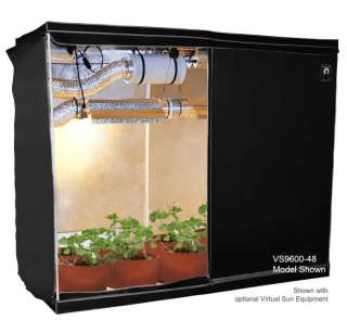 Reflective Mylar Hydroponic Plant 76x76x76 Grow Box Tent Growing Hut