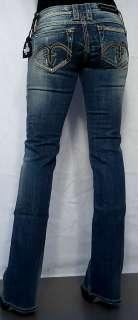 Rock Revival Womens Jeans ALANIS 5RS Denim   Size 29