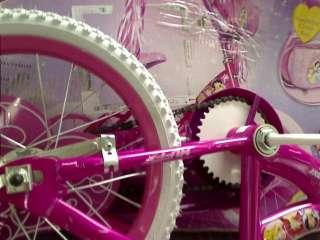 Huffy Disney Princess Girls Bike (Pink, 16 Inch Wheels)