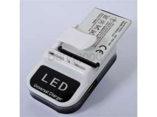 Universal Mobile Cell Phone Battery Wall Travel Charger _HTC SAMSUNG