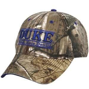 The Game Duke Blue Devils Camo Bar Hat