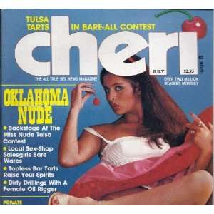 CHERI (JULY 1981) CHERI MAGAZINE Books