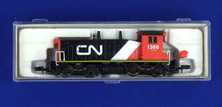 CANADIAN NATIONAL CN 1366 ~ EMD SW9/1200 ~ LIFE LIKE 79508 N SCALE
