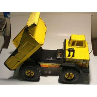 Vintage Tonka TURBO DIESEL Dump Truck Pressed Steel Metal Toy |