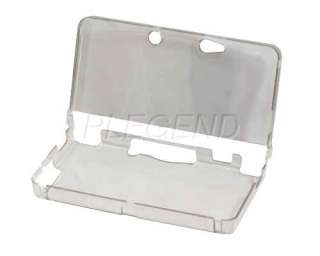 Hard Shell Clear Crystal Case Cover for 3DS Nintendo