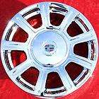 set of 4 new 17 cadillac dts oem chrome wheels