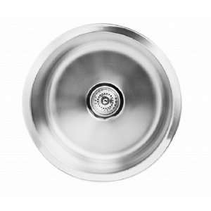 16 Inch Round Stainless Steel Kitchen/Bar Sink Home Improvement
