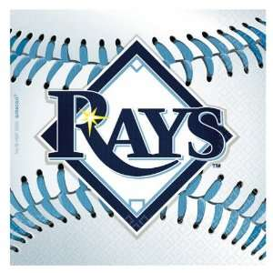 Tampa Bay Rays Baseball   Beverage Napkins Toys & Games