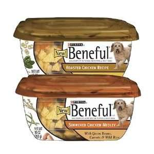 Beneful Prepared Meals Poulry Variey Pack Dog Food ubs