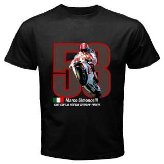 MARCO SIMONCELLI Honda Gressini MotoGP T shirt S 3XL