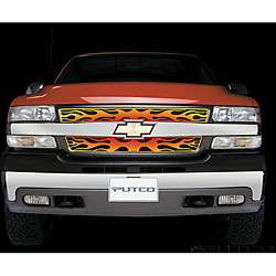Chevy Silverado HD 2001 02 Flaming Inferno Stainless Steel Grill