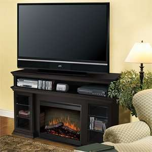Dimplex Bennett Electric Fireplace Media Console Espresso