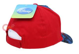 Disney Mickey Mouse Baseball Cap Kids Hat Adjustable