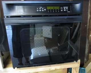 GE oven black General Electric profile trutemp 30 wide