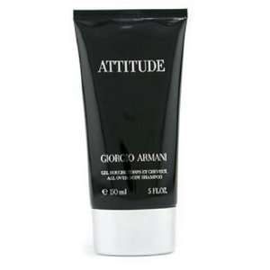 ARMANI ATTITUDE BATH & SHOWER GEL FOR MEN 5.0oz 150ml