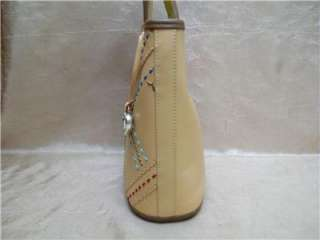 BRIGHTON TAN AND BROWN LEATHER HANDBAG   LIMITED EDITION 393 OF 500