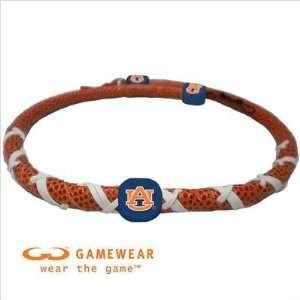 Auburn University Tigers AU NCAA Spiral Football Necklace