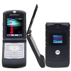 Motorola Razr v3 Unlocked GSM Quadband Cell Phone