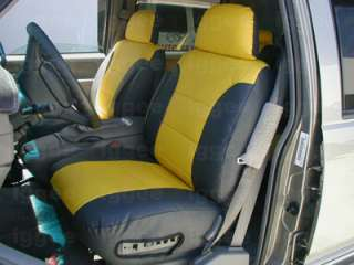 CHEVY SUBURBAN 1992 1999 S.LEATHER CUSTOM SEAT COVER