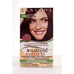 Clairol Natural Instincts #30R Cherry Creme Hair Color (Pack of 4
