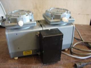 Gast Dual Vacuum Suction Pump Compressor DAA P101 EB
