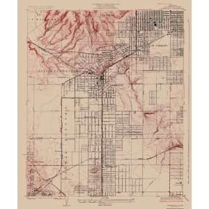 USGS TOPO MAP INGLEWOOD QUAD CALIFORNIA (CA) 1924